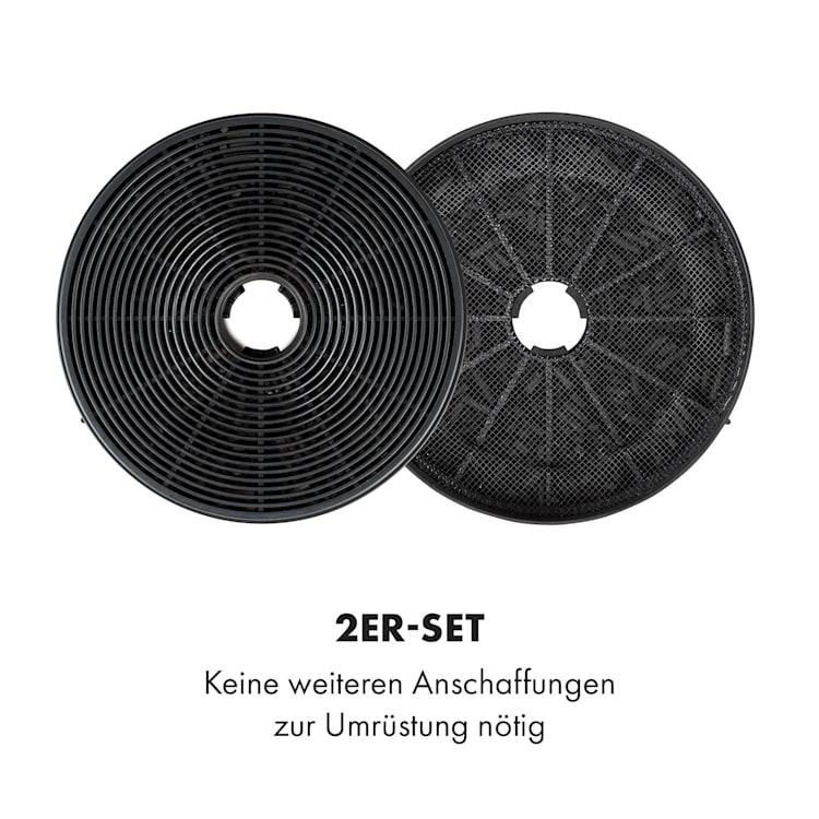 Aktivkohlefilter Skyfall Smart Abzugshaube Ersatzteil 17,5x3,5 cm (ØxH)