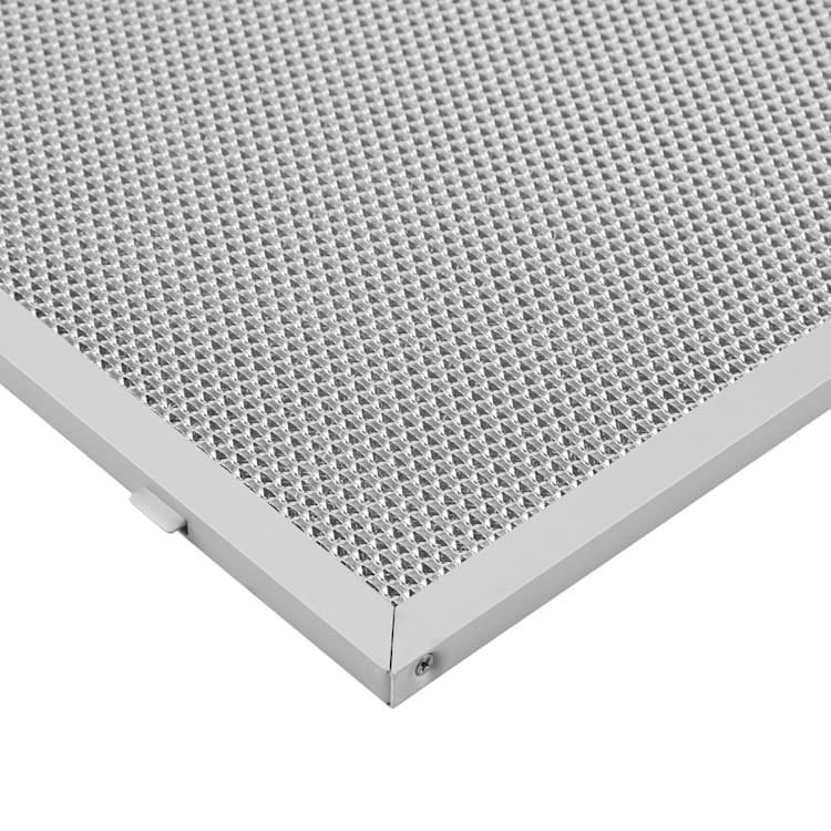 Filtru de grăsime pentru hote, 26 x 32 cm, filtru de rezervă, accesorii, aluminiu