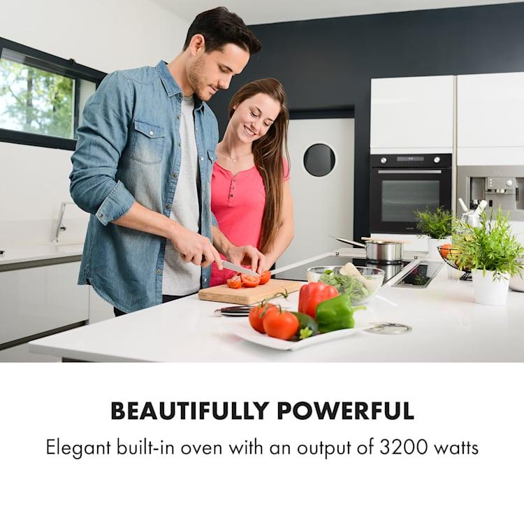 Robuchon, beépített sütő, 3200W, 11 funkció, EEK A+