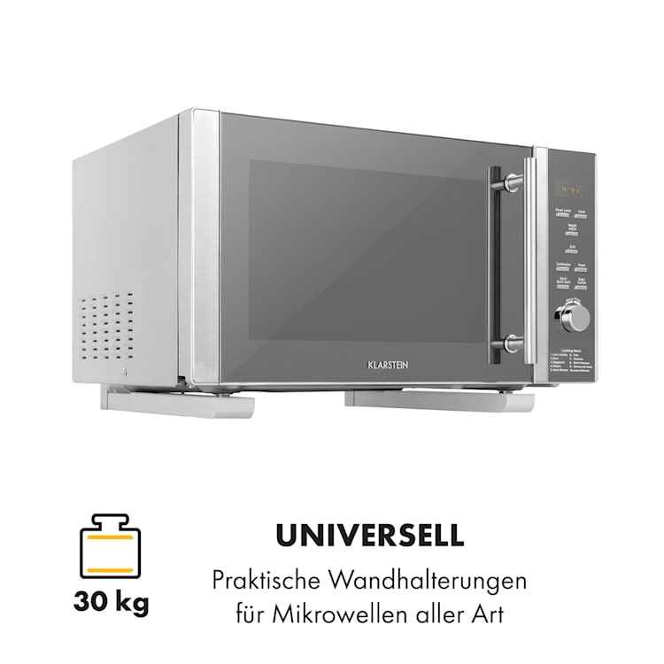 MB-6 Mikrowellenhalterung 30 kg universal 32,5 - 49,2 cm