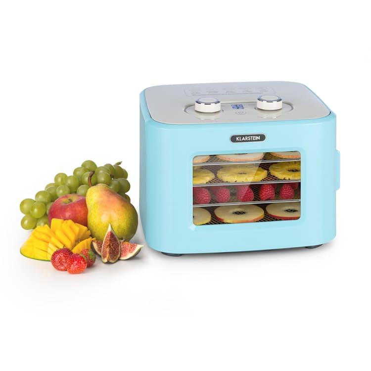 Deshidratador Tutti Frutti 400W 35-80°C 8 litros Azul