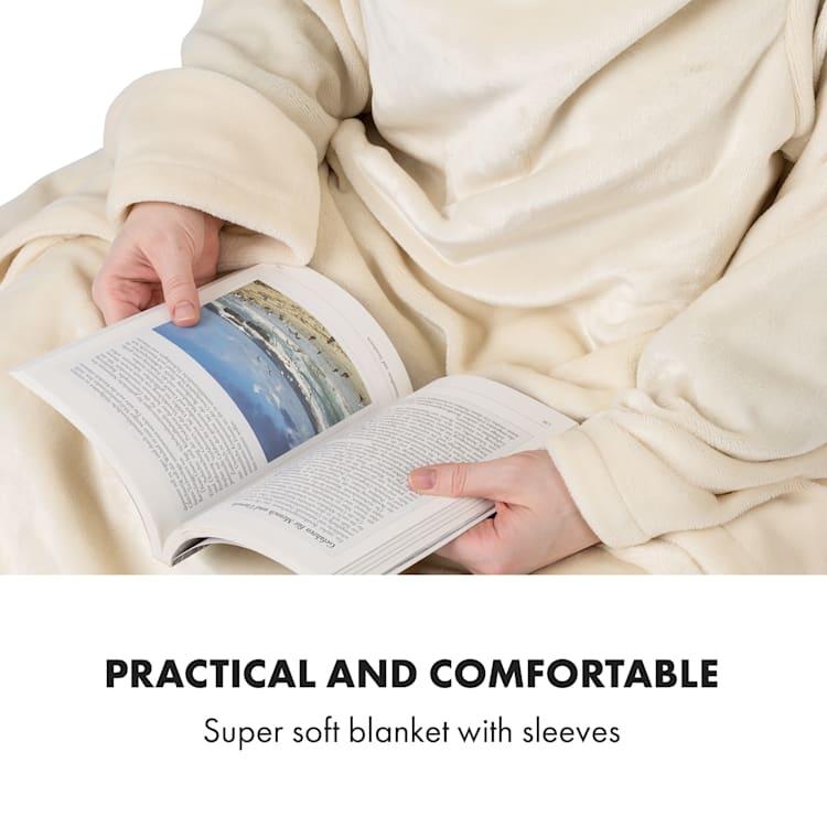 Slanket Manta eléctrica con mangas 120W 155x180cm Coralina de fibra