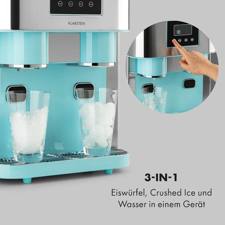 Eiszeit Crush Eiswürfelmaschine 2 Größen Crushed Ice Pastellblau
