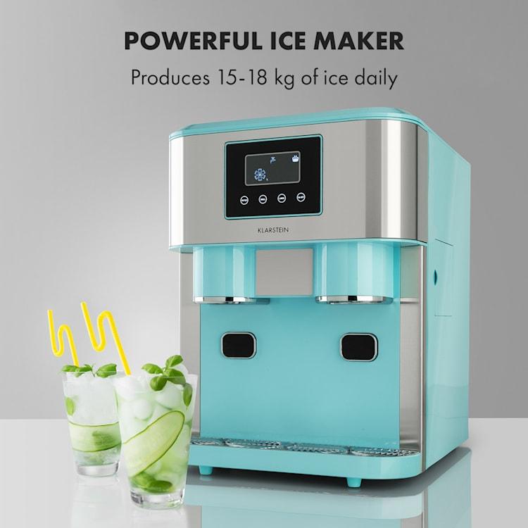 Eiszeit Crush Ismaskin 2 storlekar Crushed Ice Pastellblå