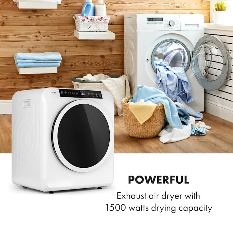 EZ Dry wasdroger luchtafvoerdroger 1500W 6kg 60cm Wit