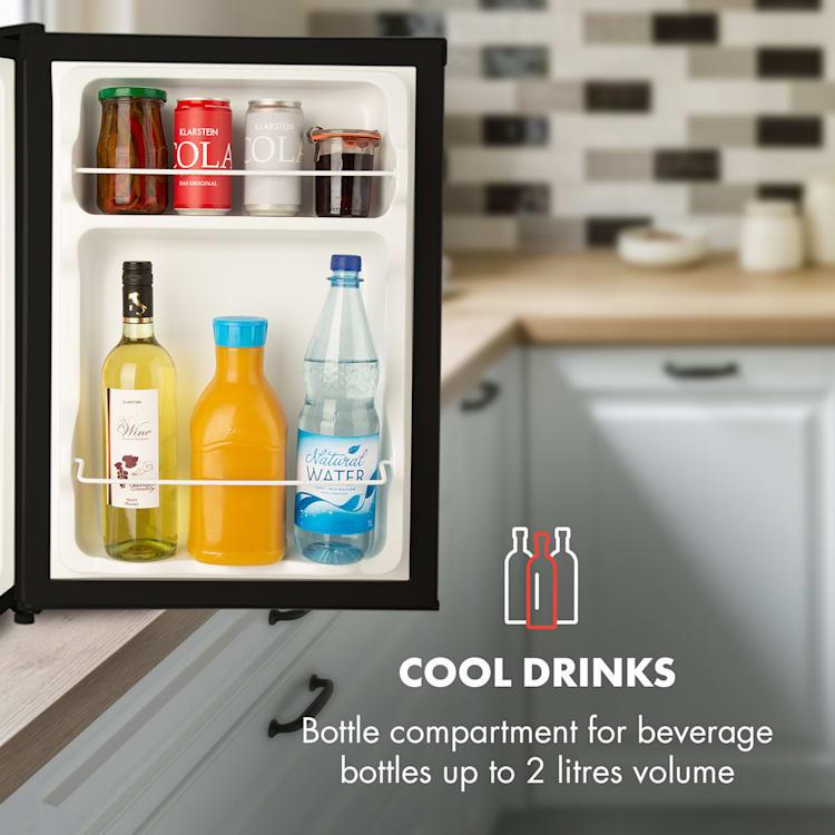 Cool Kid, мини хладилник с 4 л фризер, 66 л, 42 dB, A +, черен Черно