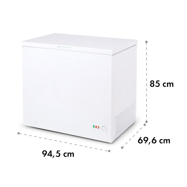 Iceblok Eco, ladă frigorifică, A +++, 200 l, 2 coșuri suspendate, roți, alb