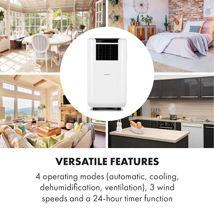 Max Breeze Smart, mobilní klimatizace, 15000 BTU/h (4,4 kW), energetická třída A Bílá | 15.000 BTU