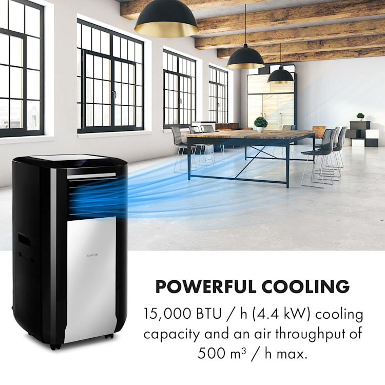 Max Breeze Smart, mobilní klimatizace, 15000 BTU/h (4,4 kW), energetická třída A Černá   15.000 BTU