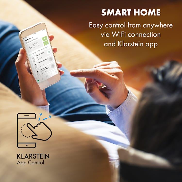 Pure Blizzard Smart 9k, mobilni klima uređaj, 9000 BTU / 2,6 kW, energetski razred A, daljinski upravljač Bijela   9.000 BTU