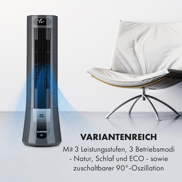 Skyscraper Frost Luftkühler 45 W7 Liter 2 Kühlakkus mobil Grau