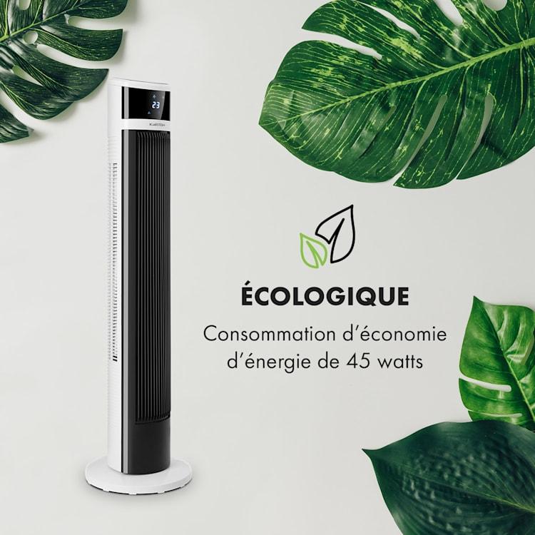Icetower Smart Ventilateur sur pied  45 Watt Contrôle par app