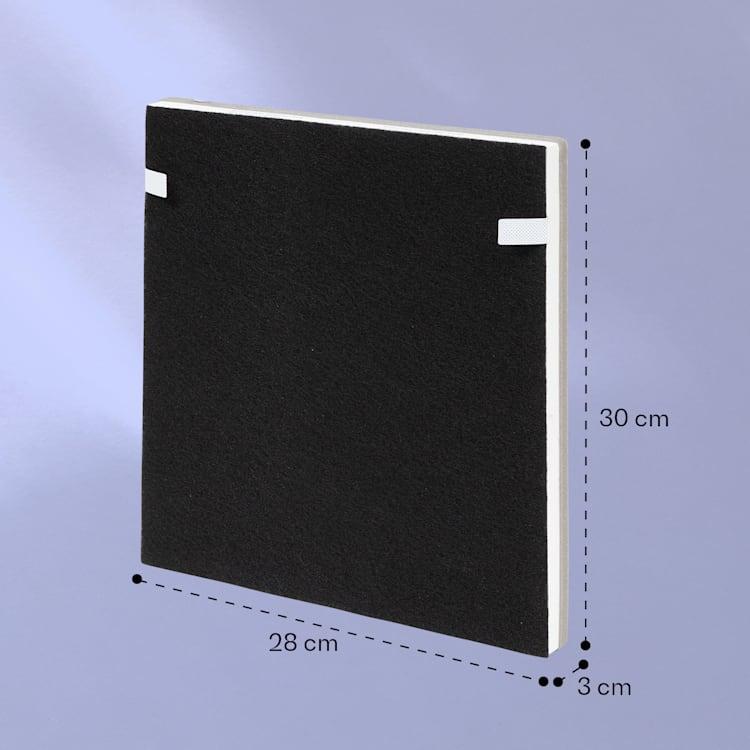 HEPA13, filtru de schimb pentru purificatorul de aer Vita Pure 2G, 28,5 × 3 × 30 cm (L × Î × l)