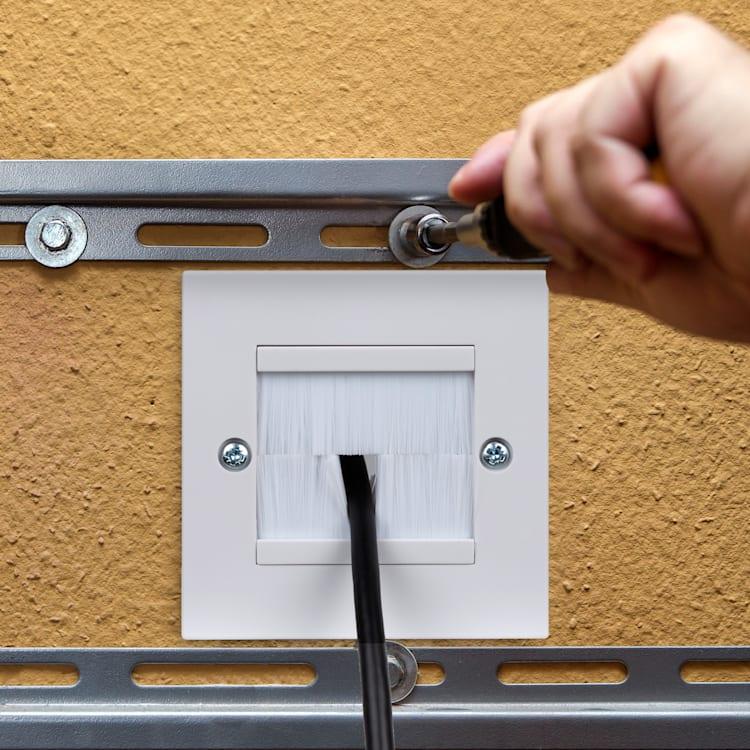 Poklopac za kabele, set od 2 komada, cca 86 × 86 mm