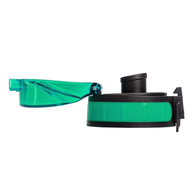 schmatzfatz couvercle de remplacement Hauteur : 4,5 cm Diamètre : 7 cm Sans BPA Vert Clair