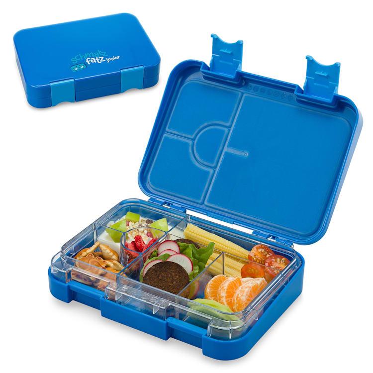 Fiambrera junior 6 compartimentos schmatzfatz 21,3 x 15 x 4,5 cm (AnxAlxP) Azul