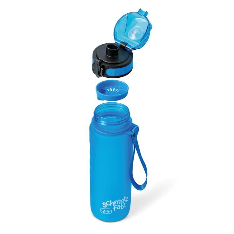 schmatzfatz botella deportiva 500 ml 24 cm Tritan Azul | 500 ml