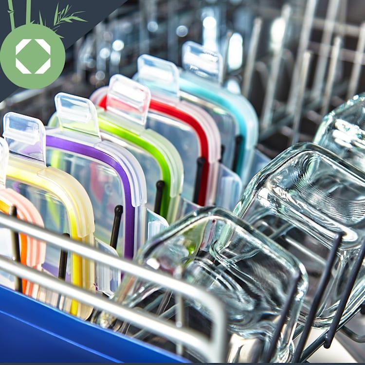 6 mini-bocaux de conservation des aliments de 160 ml chacun, résistants au lave-vaisselle et étanches