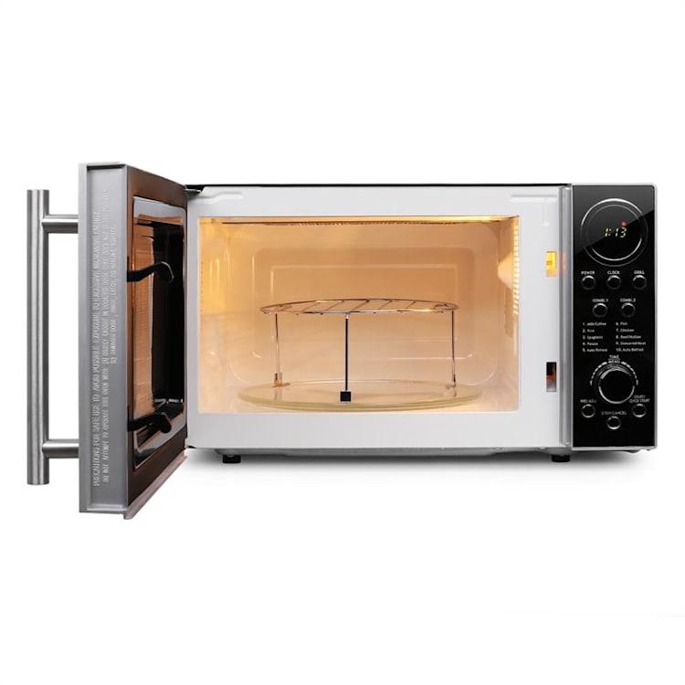 mikrohullámú sütő szett, 1 x Klarstein Luminance Prime mikrohullámú sütő 700 W + 1 x tartó konzollal   20 Ltr