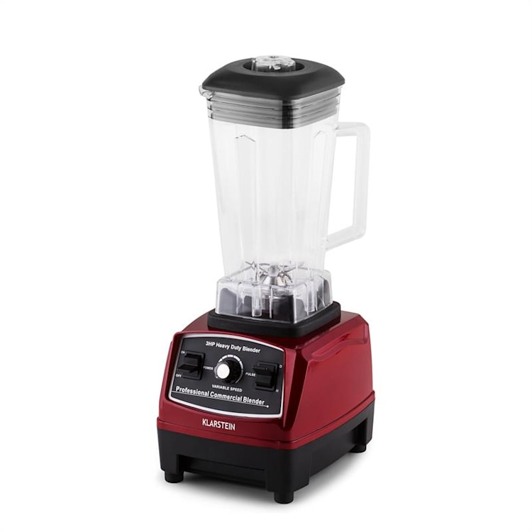 Herakles 2G Standmixer Rot mit Cover 1200W 1,6 PS 2 Liter BPA-frei Rot