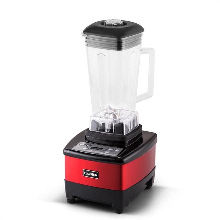 Klarstein Herakles 4G, piros, asztali turmixgép, fedővel, 1500 W, 2,0 k, 2 liter, BPA-mentes Piros