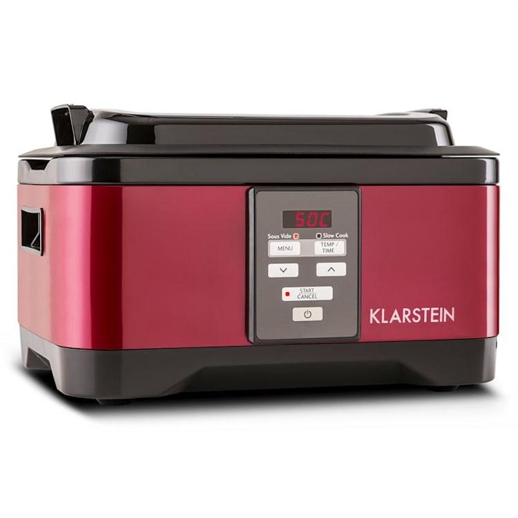 Klarstein Tastemaker Sous Vide + Foodlocker Slim + vakuovací fólie, sada na vakuové vaření, elektrický hrnec / vakuovačka / fólie