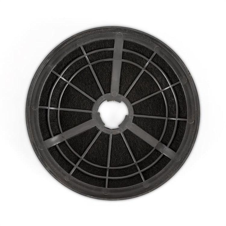 Zola Hotte aspirante 90cm + 2 filtres recyclage d'air 635m³/h argent Argent