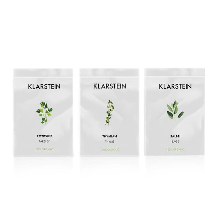 GrowIt Seeds Set de graines 9 herbes : 3x Asie 3x Europe 3x Salade