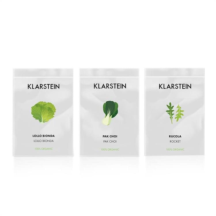 GrowIt Refill Kit Salad 28 Cestas de Planta Esponja Salad-Seeds Solução Nutriente