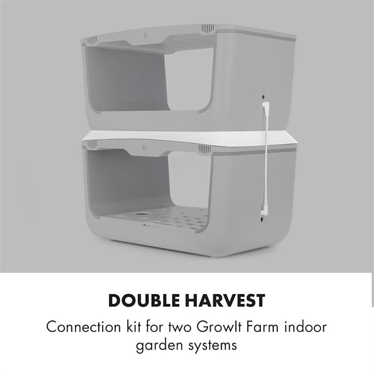 GrowIt Farm Set complet de culture indoor 2 étages 36 éléments 2 niveaux