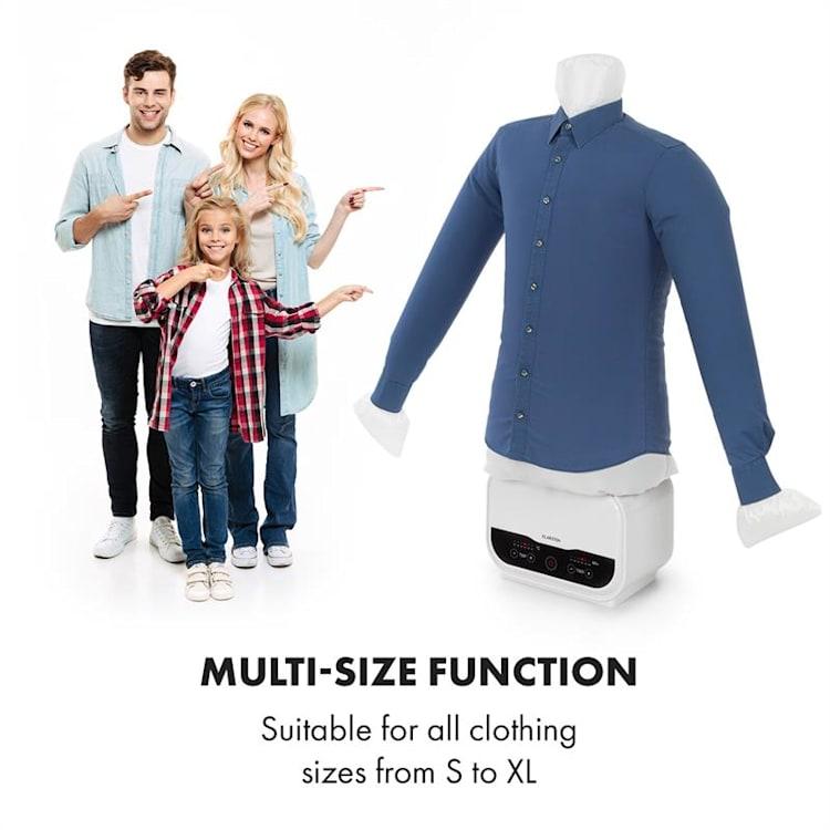 ShirtButler Pro, automatický sušící systém na košile a kalhoty, 1200 W Sušení vrchní části kalhot