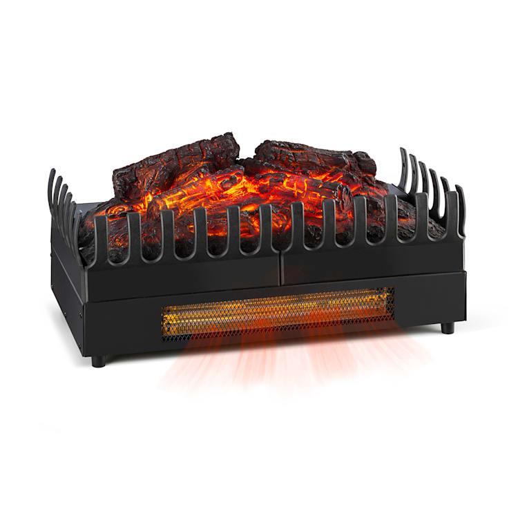 Studio Frame, kandallószerkezet, Kamini FX, kandallóbetét, 2000 W, MDF, fehér with fireplace inset with heating function