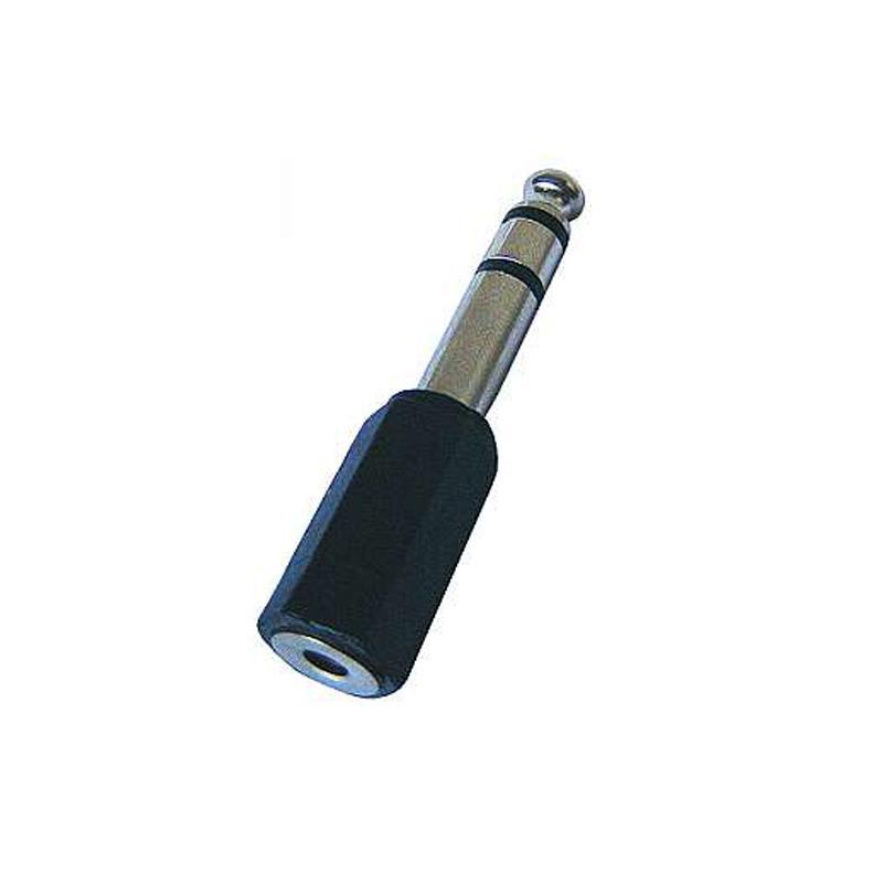 Electronic-Star 6,3 mm jack konektor pro spojení s 3,5 mm jack