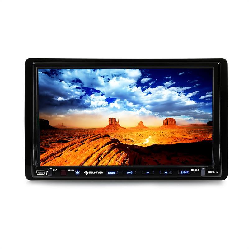 Auna Moniceiver DVA72BT, 18cm displej, DVD přehrávač