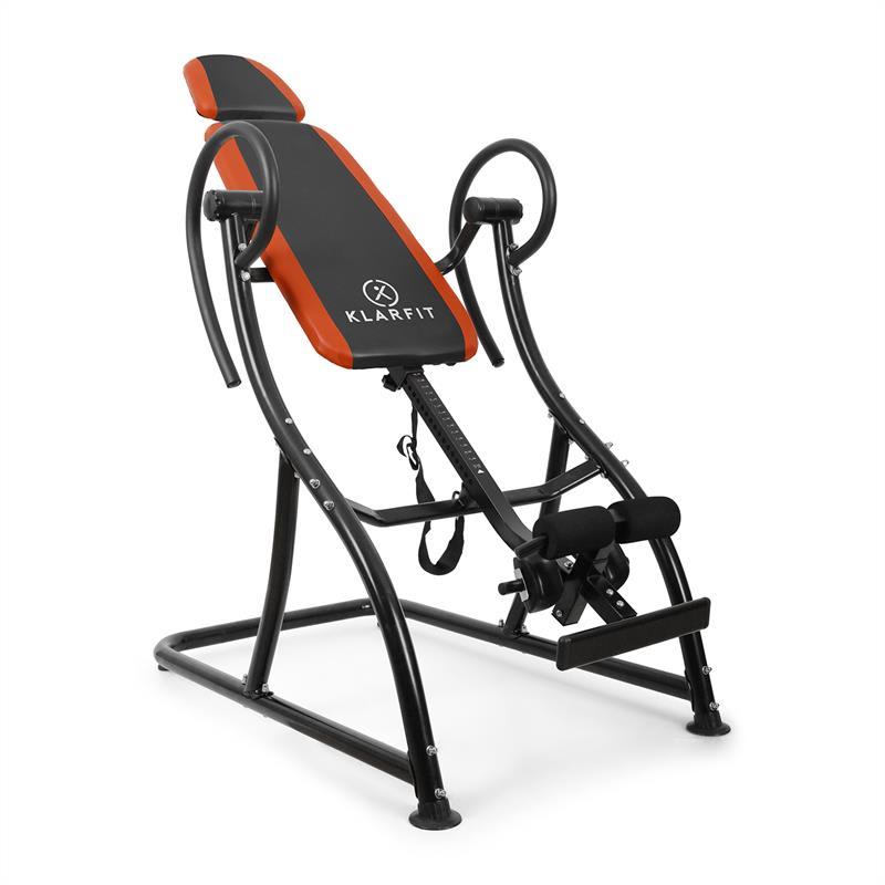 KLARFIT Inverzní lavice Klarfit Relax Zone Pro, nosnost do 150 kg