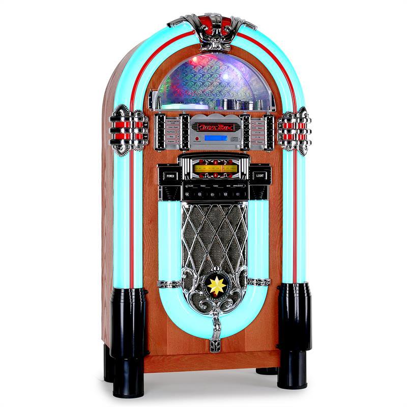 Auna Graceland-XXL, jukebox, USB, SD, AUX, CD, FM / AM
