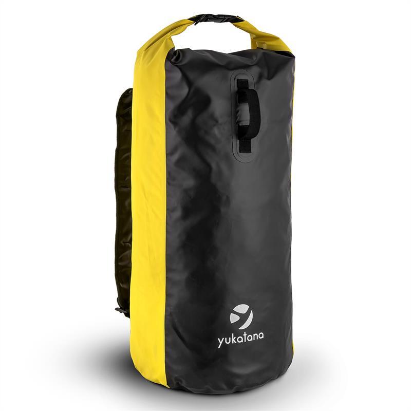 Yukatana Quintona 70Y, 70 l, žlutý trekingový batoh odolný vůči vodě a větru