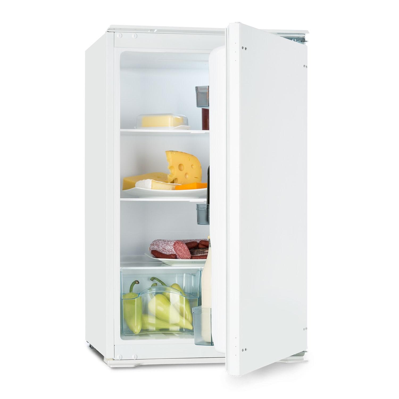 Klarstein Coolzone 130, biela, vstavaná chladnička, A+, 130 l, 54 x 88 x 55 cm