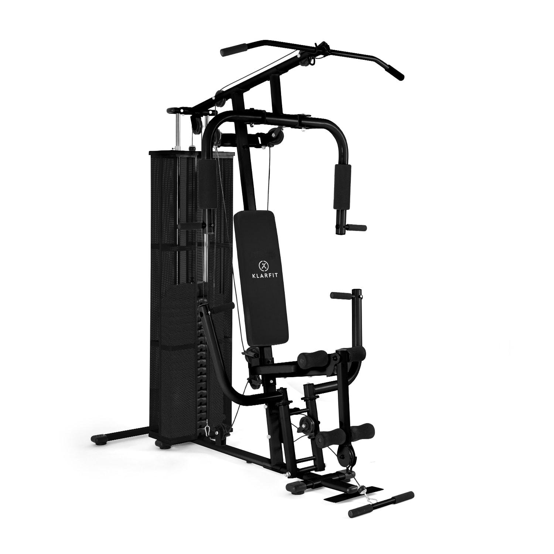 KLARFIT Ultimate Gym 3000, černá, fitness stanice