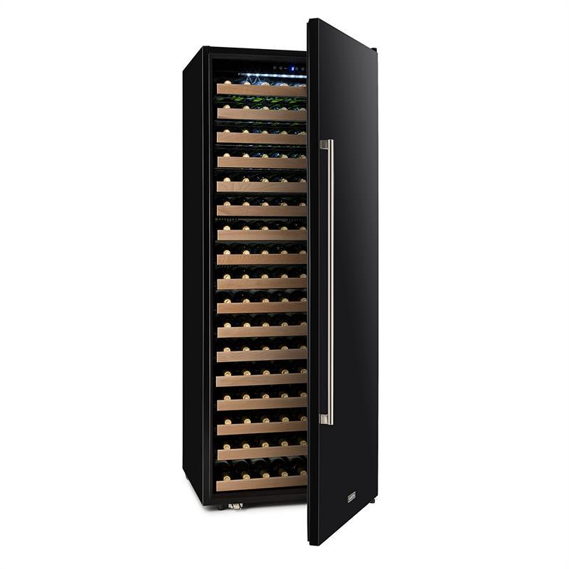 Klarstein Botella Cura chladnička na víno, 224 fliaš, LCD displej, uhlíkový filter