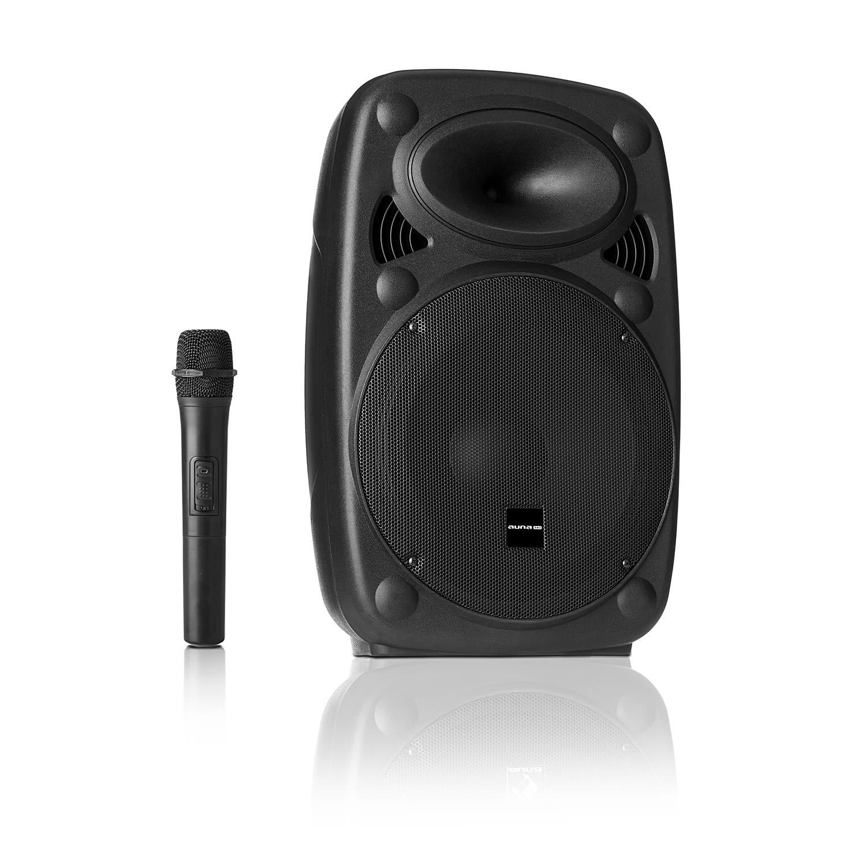 """Auna Pro Streetstar 8, mobilní PA systém, 8"""" (20 cm) woofer, UHF mikrofon, 200 W max."""