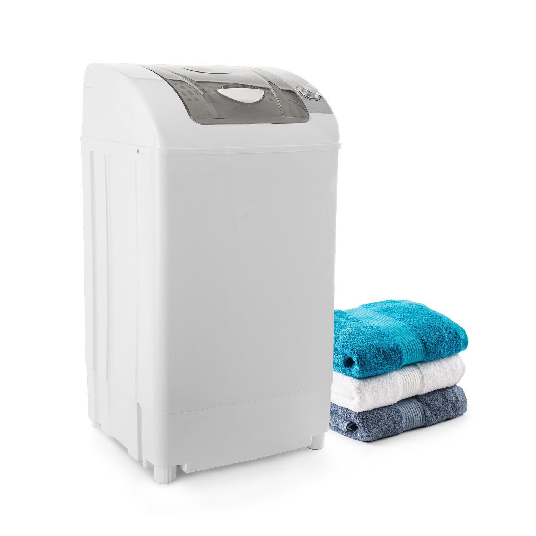 OneConcept Top Spin Family, ždímačka prádla, 3.8 kg, časovač, bílá