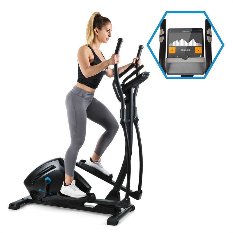 Capital Sports Helix Track, krosový trenažér, bluetooth, aplikace, 18 kg setrvačník