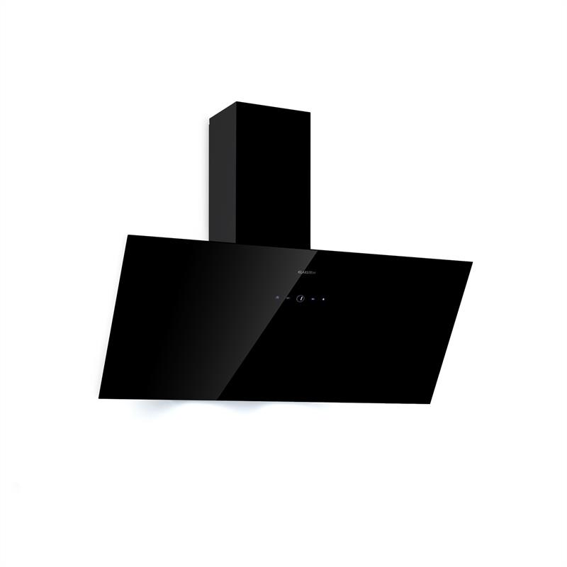 Klarstein Laurel 90, digestor, 90 cm, odsávanie: 350 m³/h, LED, dotykový, čierny