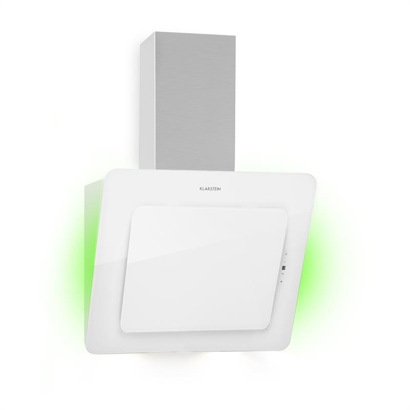Klarstein Helena 60, odsávač pár, 595 m³/h, LED displej, biely