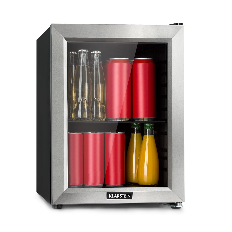 Klarstein Harlem, chladnička na nápoje, A+, kovový rošt, sklenené dvere