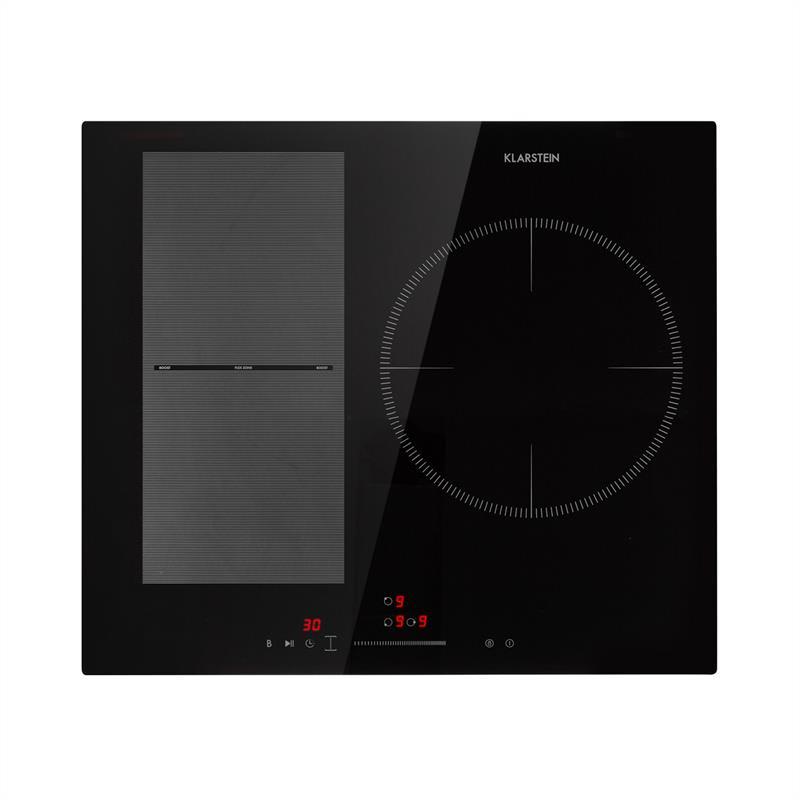 Levně Delicatessa 3 Flex, indukční varná deska, 3 zóny, 6600W, sklokeramika, černá