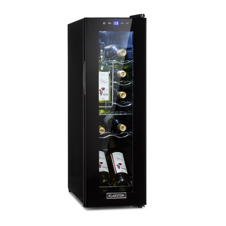 Klarstein Shiraz 12 Slim, dávkovač vína, 32 l/12 lahví, dotykový ovládací panel, 85 W, 5 - 18 °C