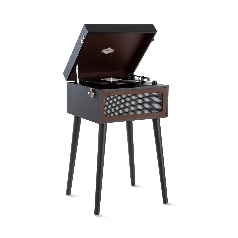 Auna Sarah Ann, gramofon, bluetooth, USB, 33, 45 a 78 ot./min., černý