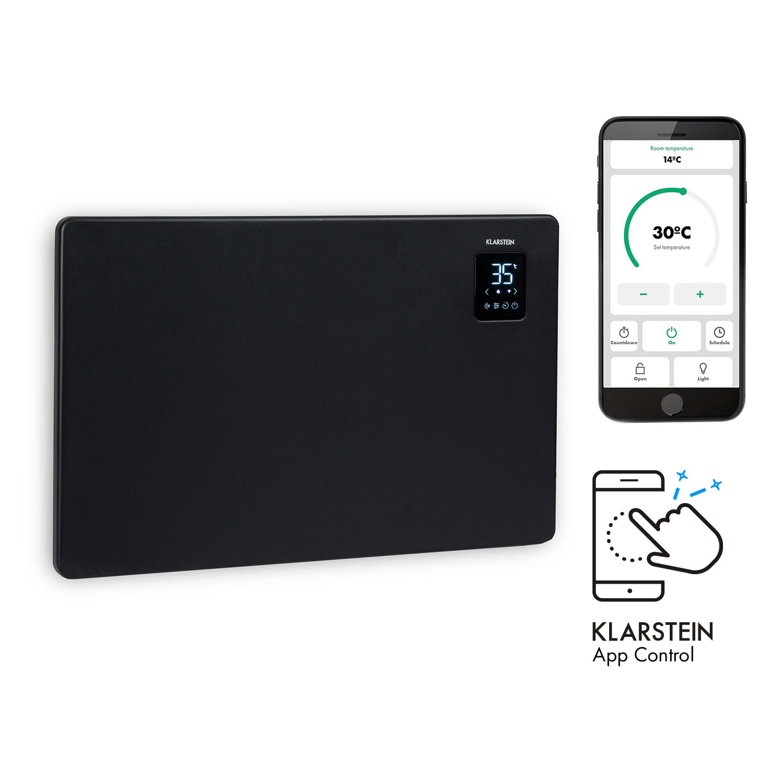 Klarstein Bansin Smart 1500, konvektor, 1500W, ovládání pomocí applikace
